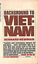 Background to Viet-Nam by Bernard Newman