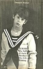 Gerard: The Influence of Jack Kerouac's…