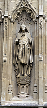 Author photo. Baldwin of Forde, Canterbury Cathedral. User Ealdgyth / Wikipedia