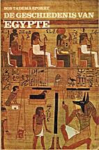 De geschiedenis van Egypte by Bob Tadema…