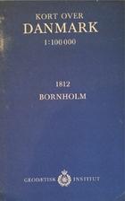Kort over Danmark 1:100000 1812 Bornholm by…
