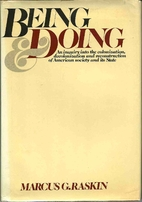 Being and doing (Beacon paperback, 457) by…