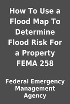 How To Use a Flood Map To Determine Flood…