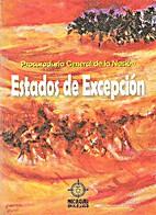 Estados de Excepción by Procuraduría…