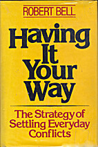 Having it your way: the strategy of settling…