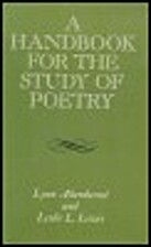 Handbook for the Study of Poetry by Lynn…