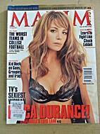 Maxim #118 October 2007