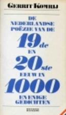 De Nederlandse poëzie van de negentiende en…