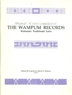 Wapapi Akonutomakonol: The Wampum Records:…