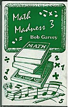 Math Madness 3 (cassette) by Bob Garvey