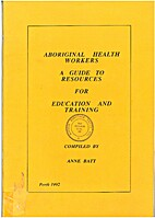 Aboriginal Health Workers A Guide To…