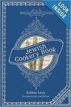 Jewish Cookery Book (American Antiquarian…
