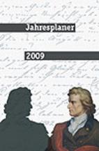 Jokers literarischer Jahresplaner 2009 by…