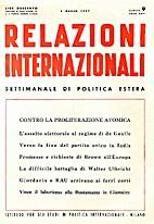 09. 1-25 : Relazioni Internazionali dal 7…