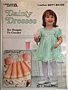 Dainty Dresses Leisure Arts #2071 by Leisure…