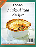 Cook's Illustrated, Make-Ahead Recipes,…