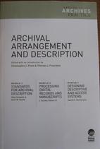 Archival Arrangement and Description by…