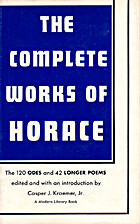 The Complete Works of Horace by Kraemer