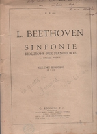 Sinfonie - riduzione per pianoforte solo by…