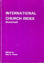 International Church Index (Doctrinal) by…
