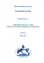 Maritime strategy and defence of the…