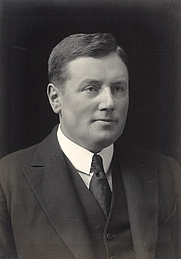 Author photo. Alfred Thomas Davies in 1921.