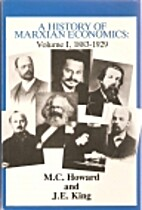 A History of Marxian Economics, 1883-1929 by…