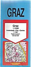 (austria) Graz (map) by Kartografiai…