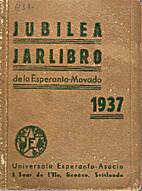 Jubilea jarlibro de la Esperanto-movado 1937