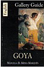 Goya. Gallery Guide (Prado) by Manuela B.…