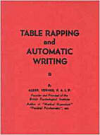 Table Rapping and Automatic Writing by A…