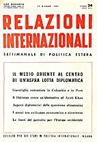 24. 1-25 : Relazioni Internazionali dal 7…
