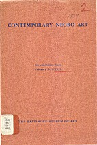 Contemporary Negro art : on exhibition from…