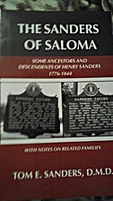 The Sanders of Saloma: Some ancestors and…