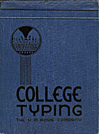 College Typing by Ray Wall Fisher