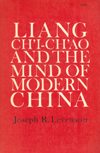 Liang Ch'i-Ch'ao and the Mind of…