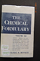 The Chemical Formulary, Volume XII by H.…