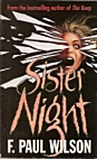 Sister Night by F. Paul Wilson