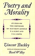 Poetry and morality: studies on the…
