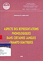 Aspects Des Representations Phonologiques…