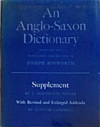 An Anglo-Saxon Dictionary Based on the…