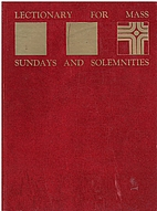 Lectionary For Mass: Sundays And…
