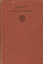 Goldsmith - Selected Essays by J.H. LOBBAN