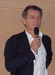 Author photo. Bernard Giraudeau in 2007 [credit: Ji-Elle]
