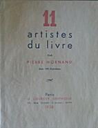 11 artistes du livre by Pierre Mornand