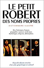Le Robert: Noms Propres 2 by Collectif