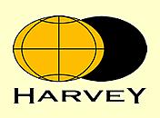 Author photo. Harvey Maps Logo