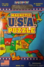 Magnetic U.S.A. Puzzle by Smethport