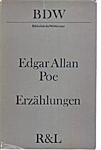 Erzählungen by Edgar Allen Poe