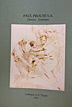 Dessins, Estampes : Catalogue G.B. Tiepolo…